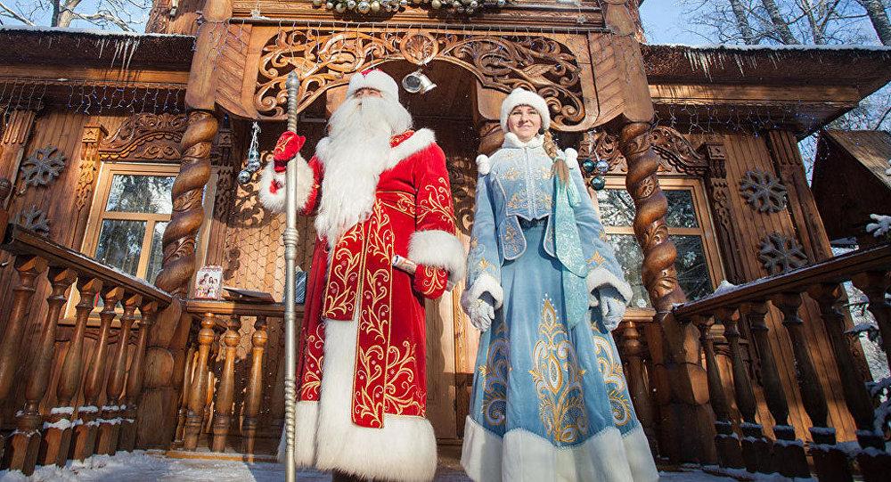 Белорусский дедушка Мороз наиболее популярный у русских туристов вСНГ