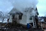 Пожар в Брестском районе