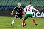 Сборная Беларуси, в рамках отборочного раунда чемпионата Мира, провела встречу со сборной Болгарии