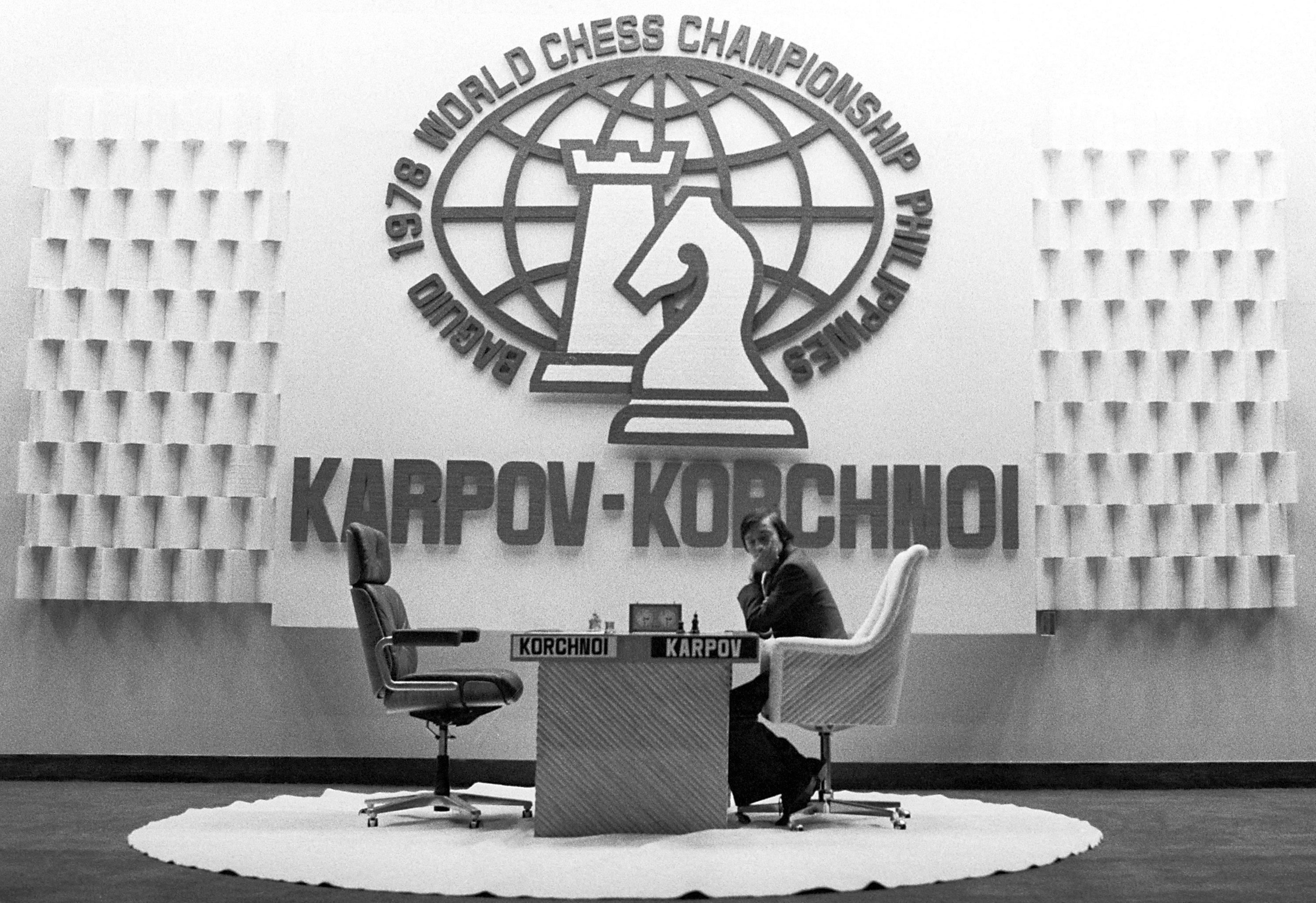 Шахматный матч между Анатолием Карповым и Виктором Корчным