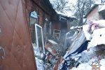 Последствия пожара в Бобруйске