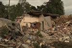 Последствия сильного землетрясения в Новой Зеландии