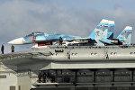 Проход авианосной группы Северного флота России через пролив Ла-Манш