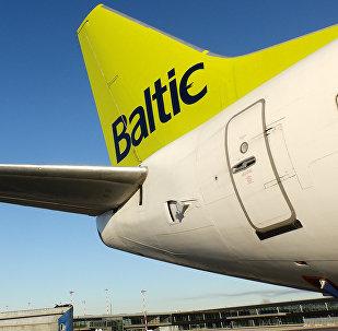 Самолеты компании AirBaltic