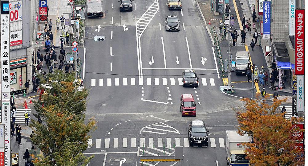 ВЯпонии устранили последствия обвала дороги