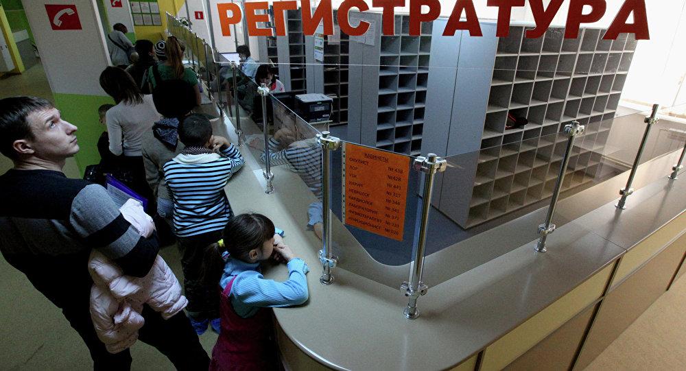 Работа детской поликлиники