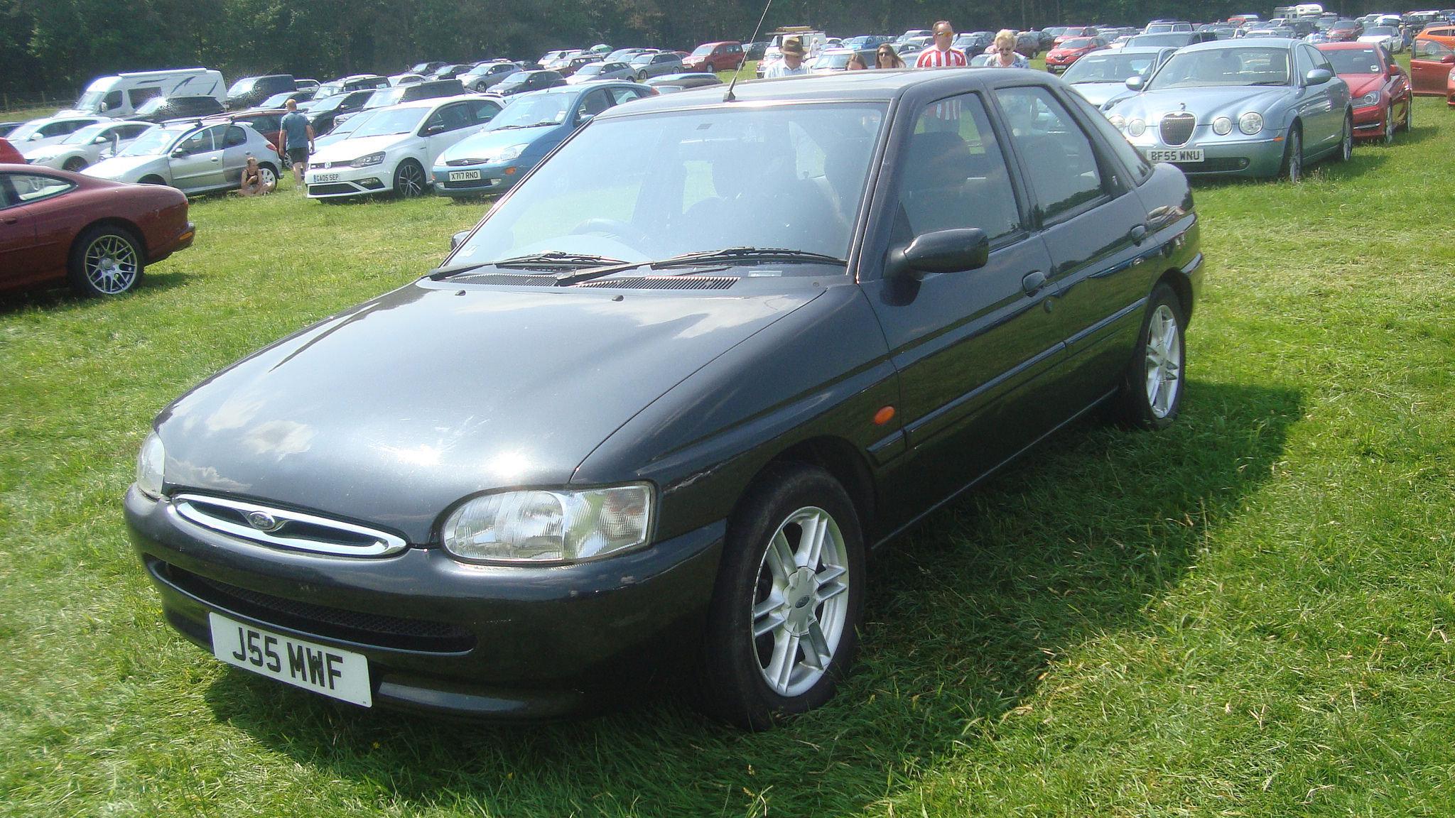 Ford Escort в Беларуси собирался несколько лет
