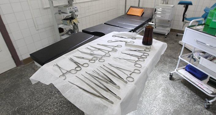 Набор медицинских инструментов