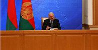 Лукашэнка на прэс-канферэнцыі 17 лістапада