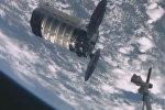 Спутник_Космический грузовик Cygnus с тремя тоннами груза пристыковался к МКС