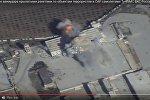 Минобороны РФ опубликовала видео авиаудара по позициям ИГ в Сирии