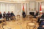 Прэзідэнт Лукашэнка сустрэўся з міністрамі Катара