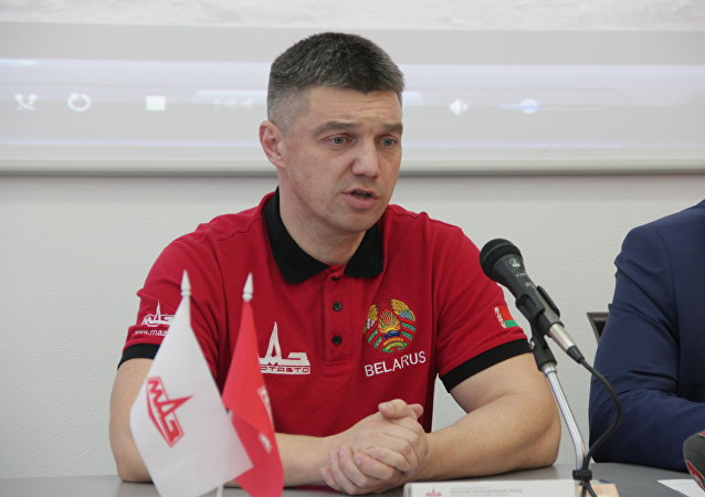 Руководитель команды МАЗ-СПОРТавто Сергей Вязович