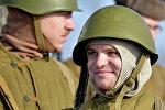 Военное шоу на Линии Сталина