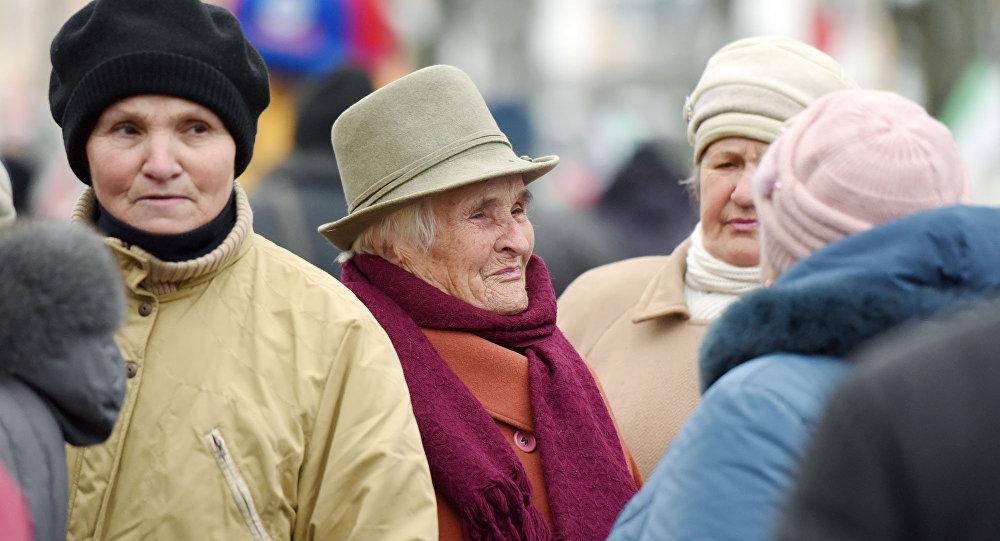 Беларускія пенсіянеркі