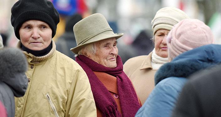 Белорусские пенсионерки