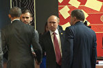 Путин и Обама провели короткую беседу на саммите АТЭС в Перу