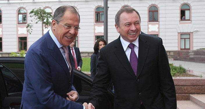 Овизите Министра иностранных дел Беларуссии В.Макея в РФ