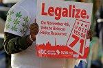 Избиратели Вашингтона высказались за легализацию каннабиса, архивное фото