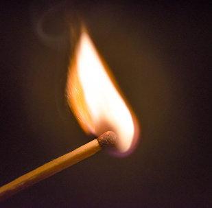 Огонь спички