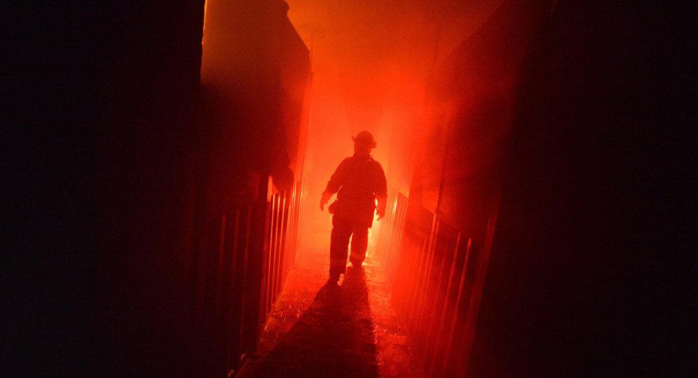 Электрик сгорел живьем впожаре всанатории Нарочь вМядельском районе