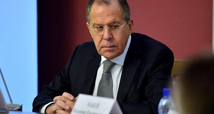 Глава МИД РФ Сергей Лавров в Минске