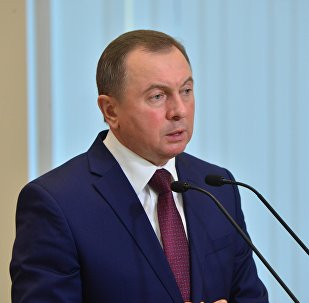 Міністр замежных спраў Беларусі Уладзімір Макей