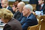 Госсекретарь Союзного государства Григорий Рапота на коллегии МИДов в Минске
