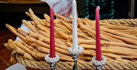 Грысіні, італьянскія хлебныя палачкі