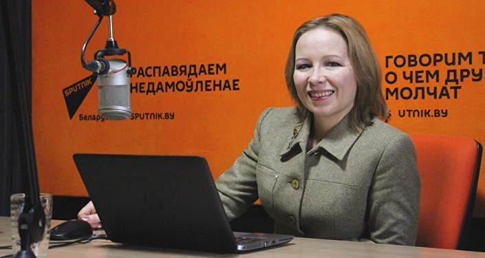 Эксперт беларускай кухні і кулінарны крытык Алена Мікульчык