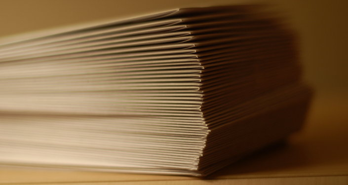 Стопка конвертов