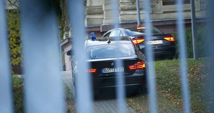 Автомобили полиции Германии, архивное фото