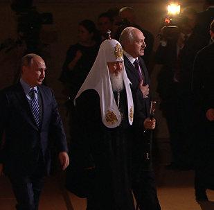 Радостное светлое событие – Путин поздравил патриарха Кирилла с 70-летием