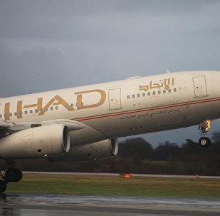 Самолет авиакомпании Etihad Airways, архивное фото