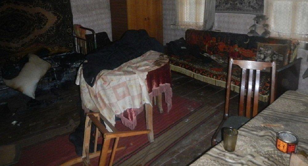 ВРечицком районе вдыму задохнулись хозяин дома иего гость