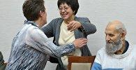 Депутаты ВС 13 созыва встретились спустя 20 лет: Людмила Грязнова (в центре) и Валерий Щукин