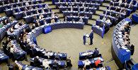 Сцяг ЕС у Еўрапарламенце
