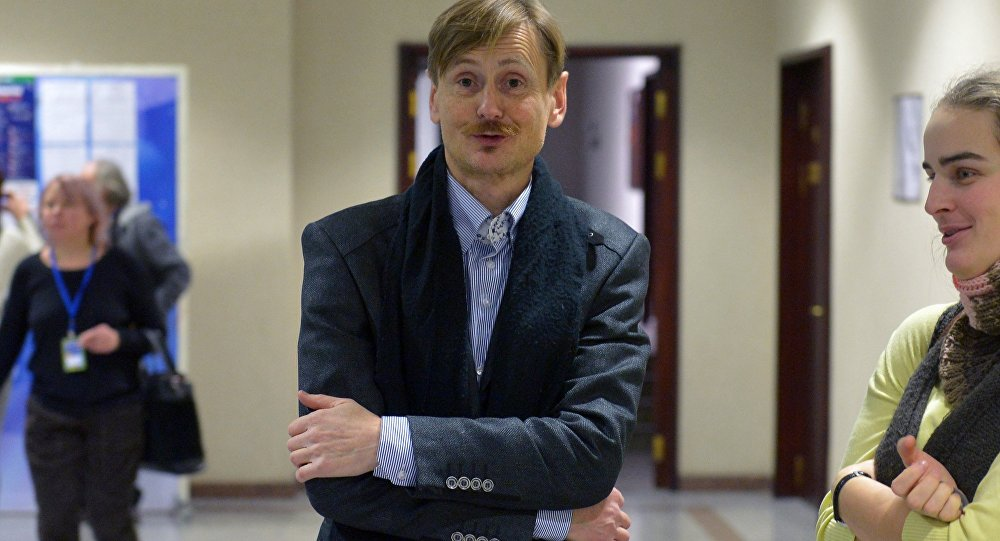Актер Александр Жданович, архивное фото