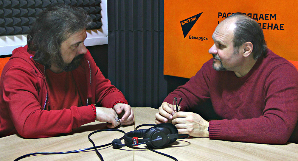 Ведущие радио Spunik Беларусь Вячеслав Шарапов и Александр Кривошеев
