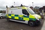Машина скорой помощи в Великобритании, архивное фото