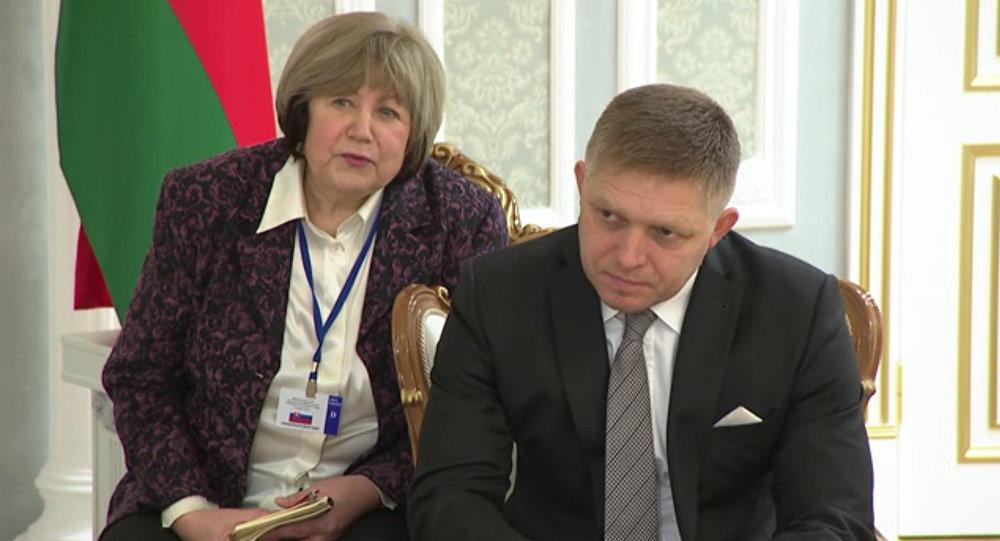 Беларусь: Лукашенко благодарен Словакии запомощь внормализации отношенийЕС