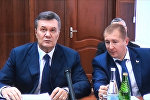 Янукович прокомментировал прерванный допрос