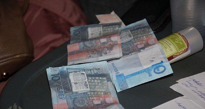 ВРеспублике Беларусь выявили девять поддельных банкнот белорусских руб.