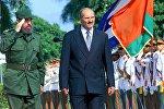 Фидель Кастро и Александр Лукашенко