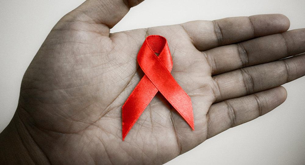Cимвол борьбы со СПИДом - красная ленточка