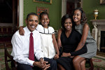 Семья президента США Барака Обамы