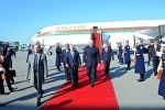 Президент Беларуси Александр Лукашенко прибыл с визитом в Баку