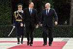 Встреча Лукашенко и Алиева в Баку