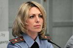 Старшиий инспектор  УГАИ МВД Анна Банадык