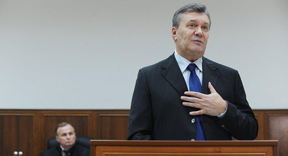 Янукович опровергает общение сМедведчуком впроцессе Майдана